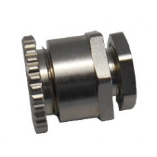 Fastening element for PellX flame detector