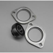Flange bearing for Viking Bio burner screws